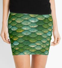 Mermaid Scales Mini Skirt Mini Skirt