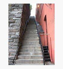 Exorcist Steps Photographic Print