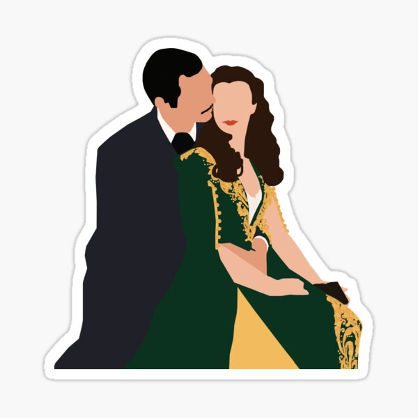 Gone With the Wind Sticker