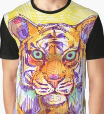 El Tigre - Tiger - Animal Graphic T-Shirt