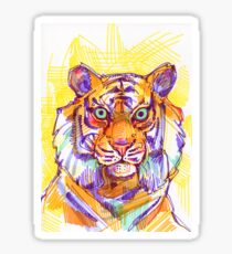El Tigre - Tiger - Animal Sticker