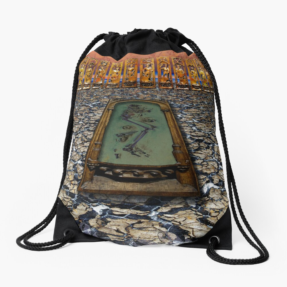 Dust to Dust Drawstring Bag