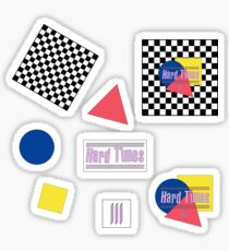 Checkered Laughter  Sticker