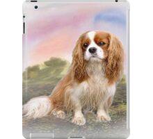 Cavalier Spaniel In the sunset iPad Case/Skin