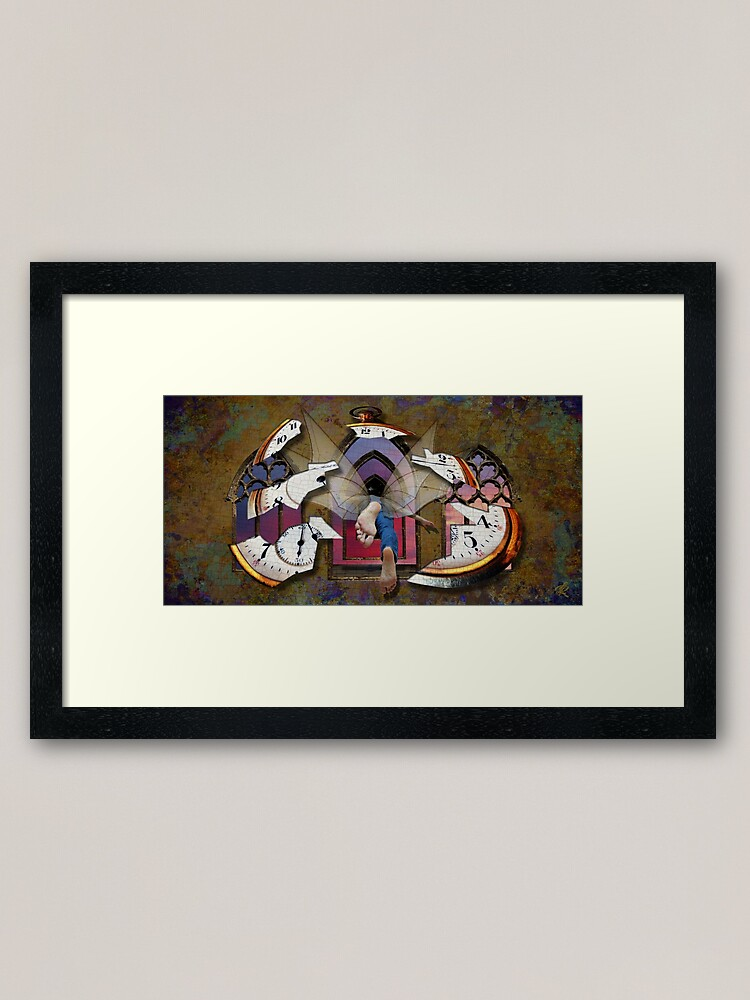 Alternate view of Journey through the Continuum Framed Art Print
