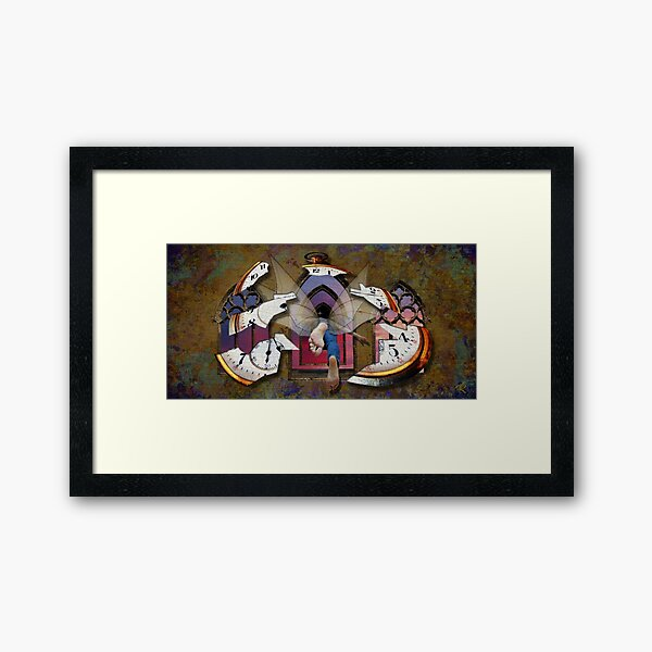 Journey through the Continuum Framed Art Print