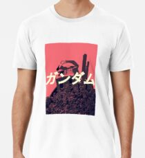 Das Gundam Hemd | Mobile Anzug RX-78-2 Pink Premium T-Shirt