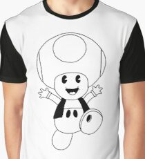 Vintage Toad 3 Graphic T-Shirt