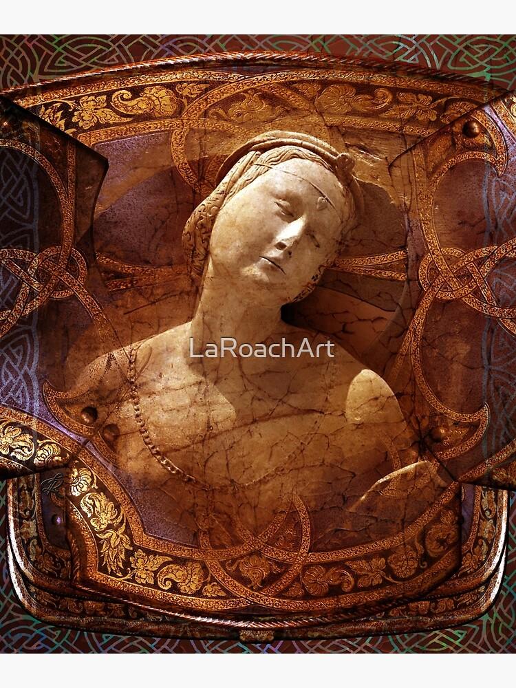Maiden of the Shield by LaRoachArt
