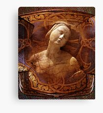Maiden of the Shield Canvas Print
