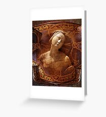 Maiden of the Shield Greeting Card