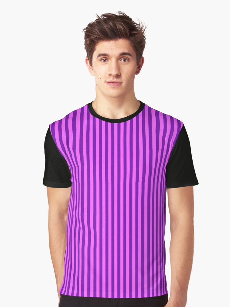 Pink And Purple Striped Dress Contrast Tank By Deanworld Redbubble