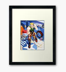 Guile Framed Print
