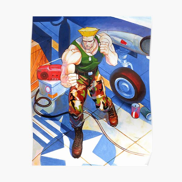 Street Fighter 2 Posters Redbubble