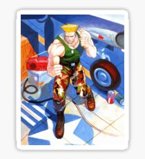 Guile Sticker