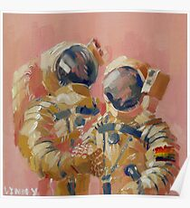 Gay Astronauts Poster