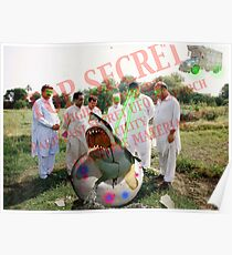 Pakistani Top Secret UFO Material Poster