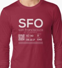 SFO Airport Long Sleeve T-Shirt
