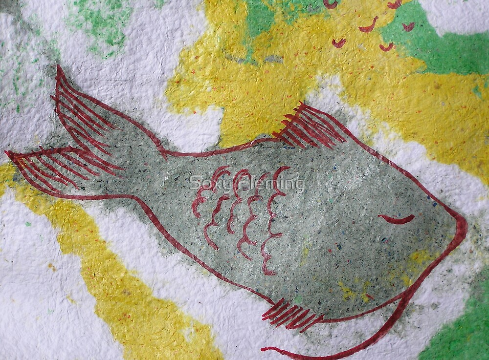 fish sleep (cropped) by Soxy Fleming