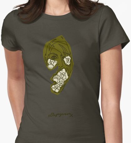 'Khaki Rose' T-Shirt