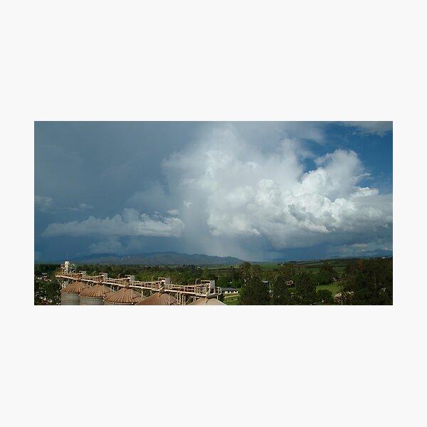 Storm over the Tinaroo Hills Photographic Print