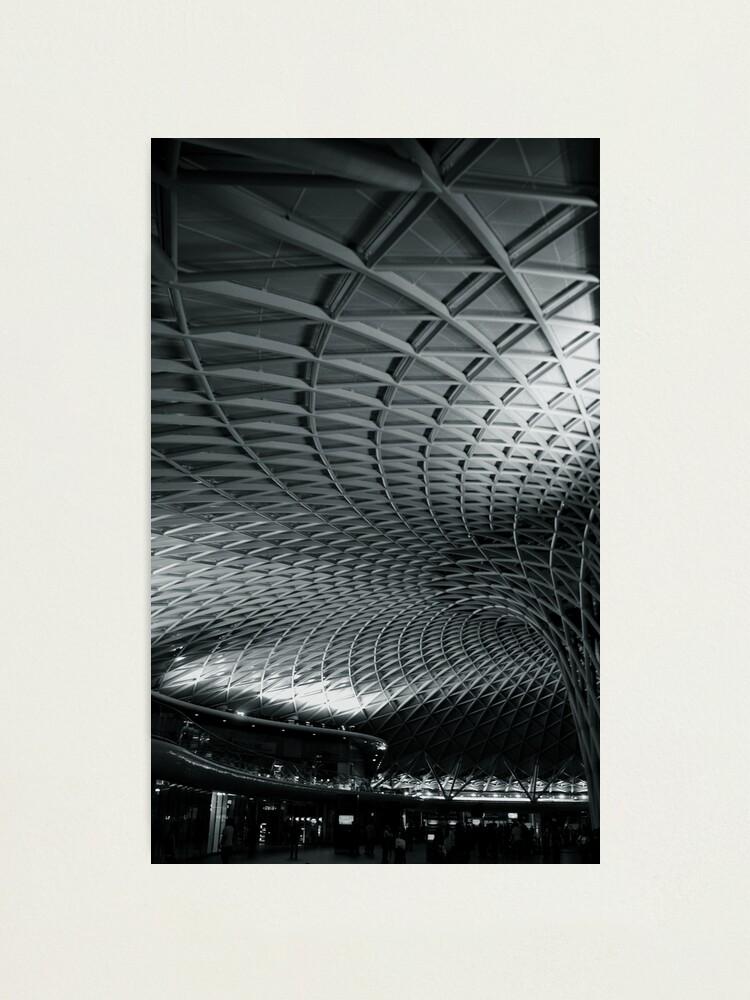 Alternate view of Kings Cross Train Station, London Photographic Print