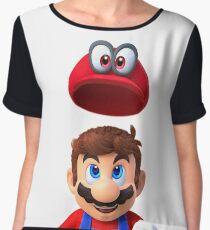 Mario Odyssey Women's Chiffon Top