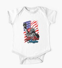 Liberty is Beautiful Patriotic Flag July 4th Holiday T-Shirt Kids Clothes