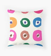 Candy Dots Throw Pillow