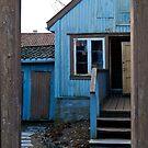 Framed Blue by Amy Dokken