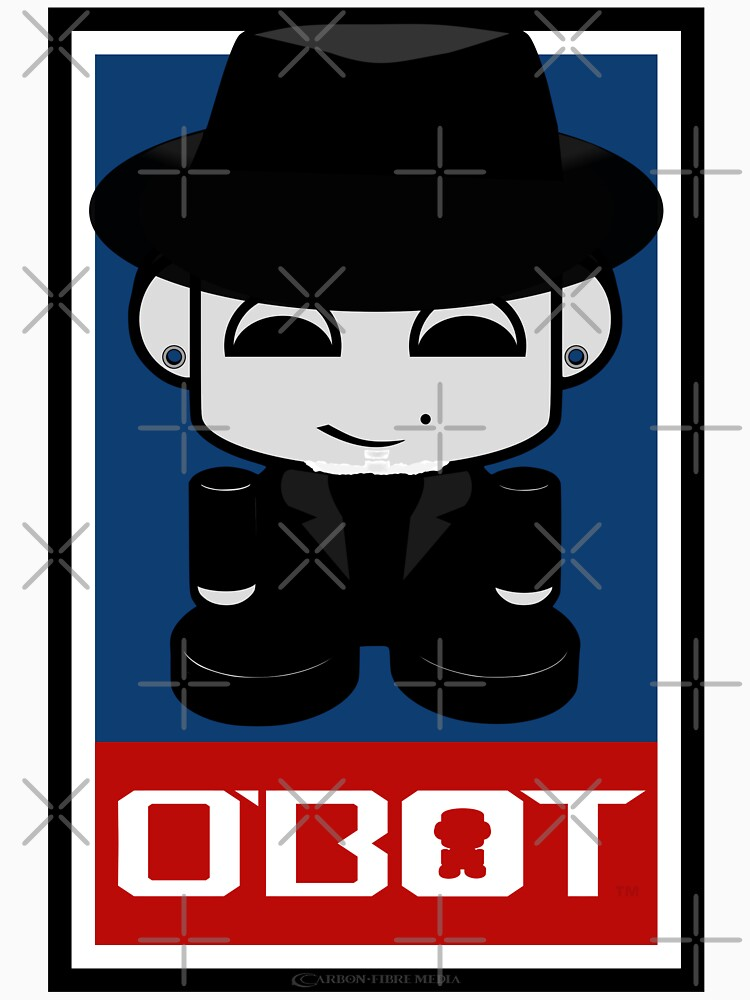 Mr. Sips O'BOT Toy Robot 2.0 by carbonfibreme