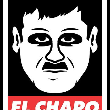 El Chapo Face by unluckydevil