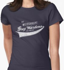 The Weisshaupt Grey Wardens Women's Fitted T-Shirt