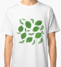 Cut + Paste Lime Pattern Classic T-Shirt