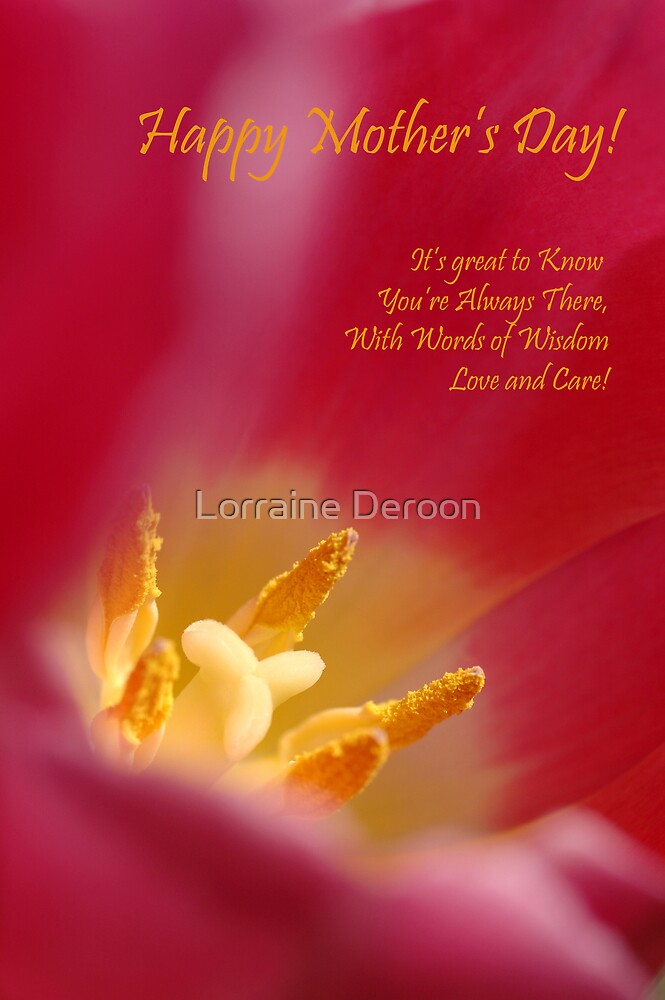 For Mum by Lorraine Deroon