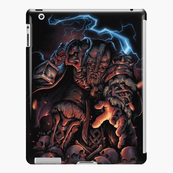 Thor god of thunder iPad Snap Case