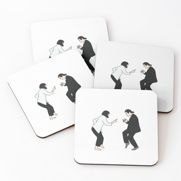 Pulp Fiction  Coasters (Set of 4)