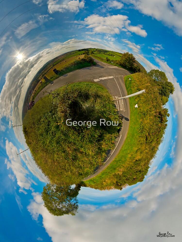 Country Roads - Killea Crossroads, Derry, N. Ireland by VeryIreland