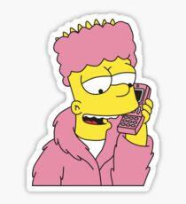 Killa Bart Tshirt Sticker