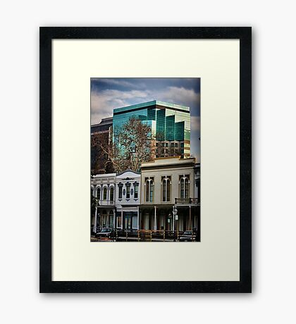 Now and Then Framed Print