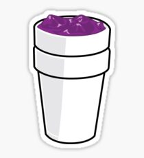 Purple Lean Sticker Sticker