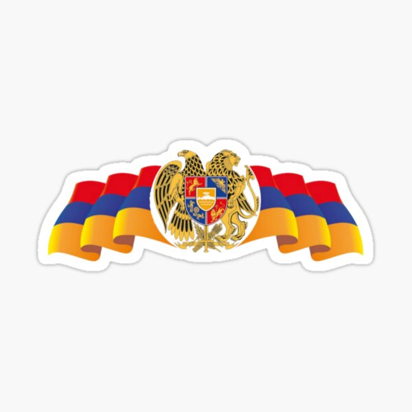 Armenian Flag Sticker
