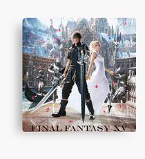 FANTASY FINAL XV PS 2017 BADJA Canvas Print