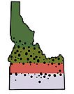 Idaho Rainbow Trout Love by Sun Dog Montana