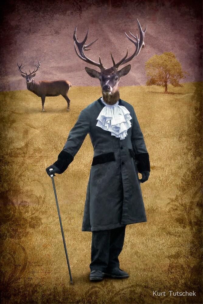 The man who changed himself into a deer by Kurt  Tutschek