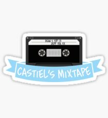 Castiel's Mixtape Sticker