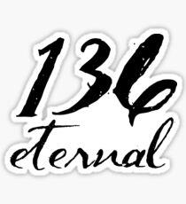 Psalm 136 Sticker