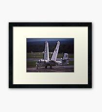 Grumman Tracker - Hands Up (Wings Folding),Australia Framed Print
