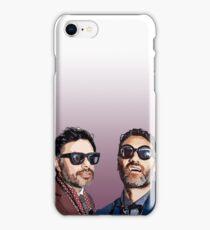 Jemaine and Taika 2 iPhone Case/Skin