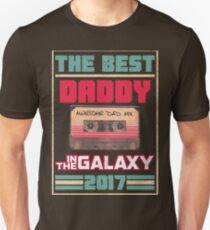 Father's Day Gift Best Daddy in Galaxy 2017 Vintage T-Shirt